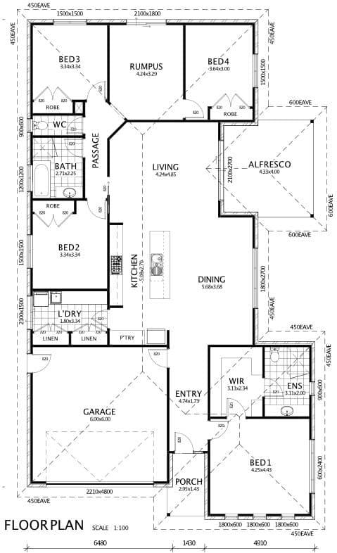 Tilly 27 floor plan